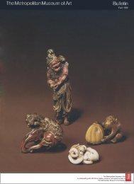 Netsuke: Small Sculptures of Japan: The Metropolitan Museum of ...