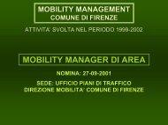 Carla Guerrini, mobility manager Comune di Firenze - Euromobility