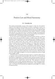 14 Positive Law and Moral Autonomy