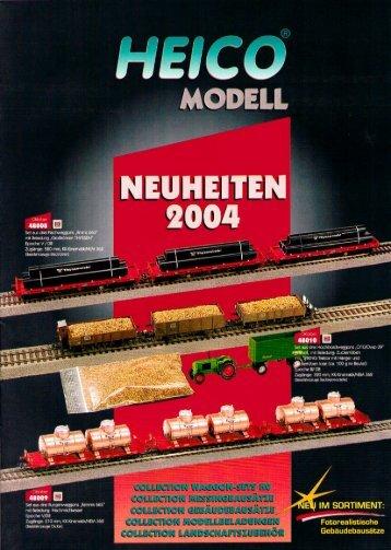 2004 - Modellismo ferroviario
