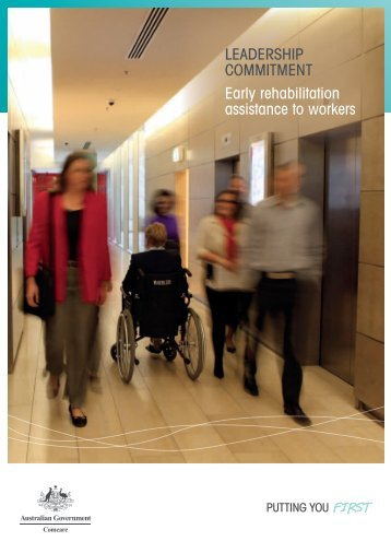 Leadership Commitment Early rehabilitation assistance ... - Comcare