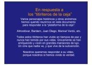 Respuesta a los titiriteros de la ceja.pps - Wikiblues.net
