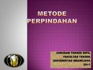 metode-perpindahan-kekakuan - Universitas Brawijaya
