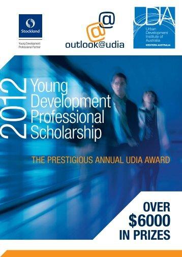 Young Development Professional Scholarship - UDIA