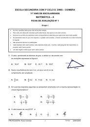 1º teste 11º A1