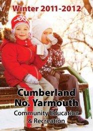 Cumberland Winter 2011-2012 Brochure - Town of Cumberland
