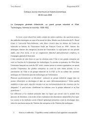 La Compagnie générale d'électricité - EconomiX