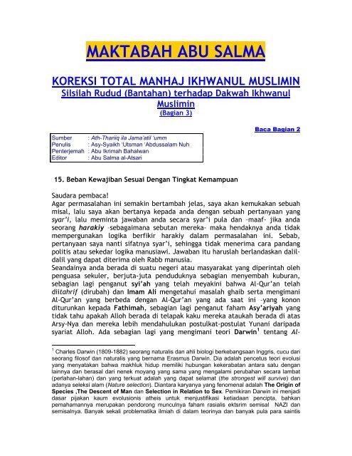 Koreksi Manhaj IM 3.pdf - Free Download Islamic Files