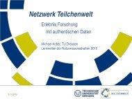 Netzwerk Teilchenwelt - Institut für Kern- und Teilchenphysik
