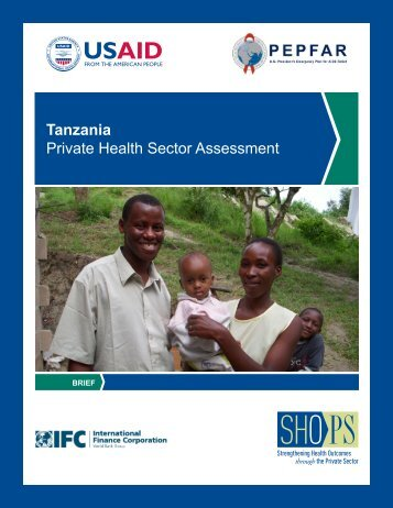 Tanzania Private Health Sector Assessment - (SHOPS) project