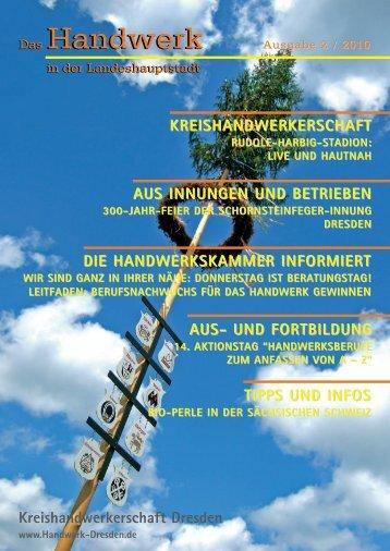 Das Handwerk Das Handwerk - Kreishandwerkerschaft Dresden