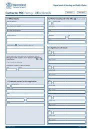 Contractor PQC Form 3—Office Details - Department of Housing and ...