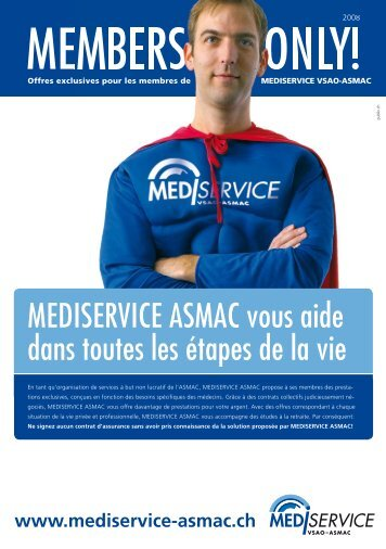 Members only! - mediservice vsao-asmac