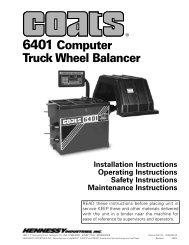 6401 Computer Truck Wheel Balancer - aesco