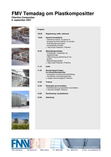 FMV Temadag om Plastkompositter