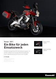 Versys / 2011 Ein Bike für jeden Einsatzzweck - Motorrad Hoffmann