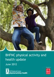 Download: BHFNC update June 2012 - BHF National Centre ...