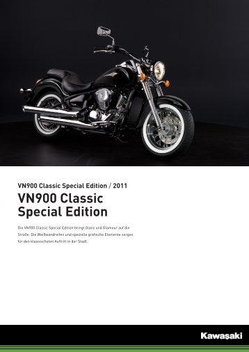 VN900 Classic Special Edition - Motorrad Hoffmann