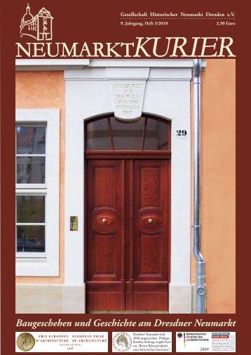 Baugeschehen und Geschichte am Dresdner Neumarkt
