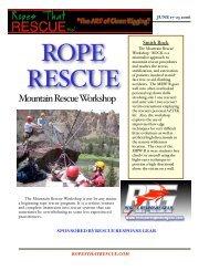 Smith Rock flyer - Rescue Response Gear