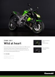 Z1000 / 2011 Wild at heart - Motorrad Hoffmann