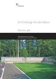 Im Einklang mit der Natur Normo 4R - Holcim Süddeutschland