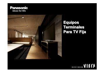 Equipos Terminales Para TV Fija Equipos Terminales Para ... - DiBEG