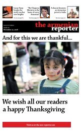 And for this we are thankful.... - Armenian Reporter