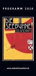 PROGRAMM 2010 - Seebühne Seeham