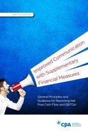 improved Communication with Supplementary Financial Measures