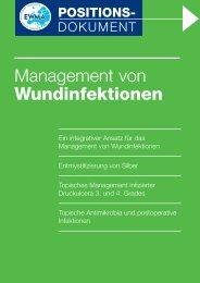 Management von Wundinfektionen - EWMA