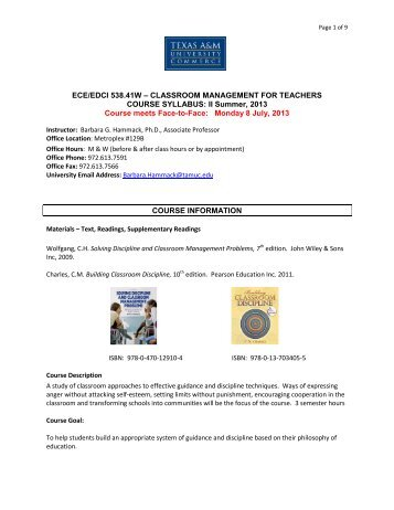 Course Syllabus Template All Courses 36 Hours Default