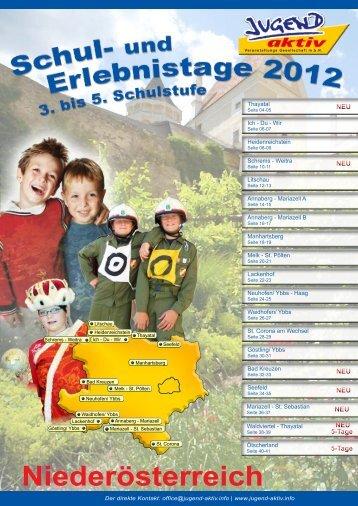 Niederösterreich 2012 - Jugend aktiv