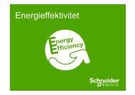 Vad kan du göra för att få en mer energieffektiv ... - Schneider Electric