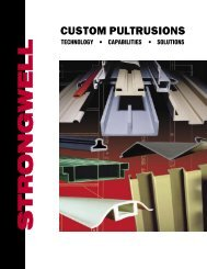 Custom Pultrusions Brochure 0706.indd