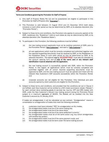 Service Agreement for promotion