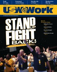National College Players Association - United Steelworkers