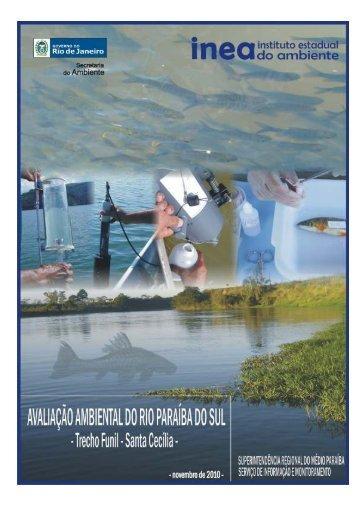 Trecho Funil - Santa Cecília - Relatório Técnico. - ceivap
