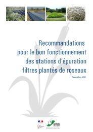 Recommandations pour le bon fonctionnement des stations d ...