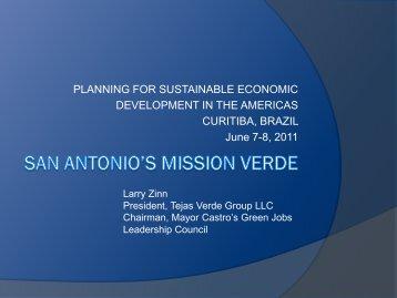 San Antonio's Mission Verde - Global Urban Development