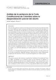Análisis de la sentencia de la Corte Constitucional de Colombia ...