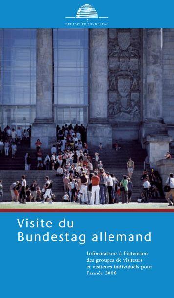 Visite du Bundestag allemand