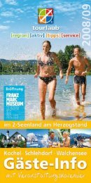 aktiv - Urlaub in Schlehdorf am Kochelsee