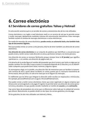 6. Correo electrónico - Plusesmas.com