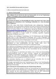 Abschlussbericht zum Projekt - Comenius Regio Giessen Granada