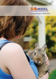 2011 Annual Report (2.0mb) - Menzies Inc.