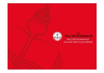 Okullar Hayat Olsun - Milli Eğitim Bakanlığı