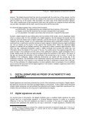 Digital signatures and electronic records - Expertisecentrum DAVID - Page 3