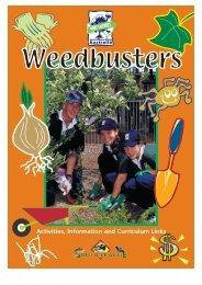 Weedbusters - Activities, Information and ... - Weeds Australia