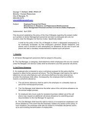 Cell Phone Allowance Policy - IPMA